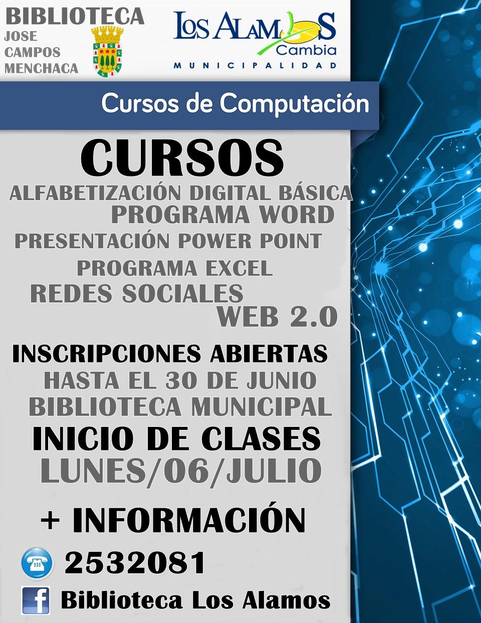 Municipalidad los alamos for Municipalidad de avellaneda cursos