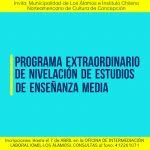 SE EXTENDIÓ EL PLAZO DE INSCRIPCIÓN EN PROGRAMA DE NIVELACIÓN DE ESTUDIOS