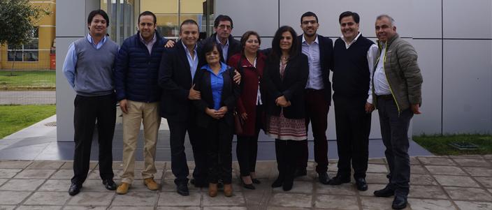 ARDUA AGENDA SOSTUVIERON EN SANTIAGO LAS AUTORIDADES DE NUESTRA COMUNA