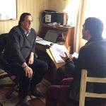 COORDINAN GESTIONES PARA AVANZAR EN MATERIAS DE INTERÉS COMUNAL Y PROVINCIAL