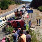 NUEVO ACCIDENTE EN RAMADILLAS: ALCALDE PIDE FISCALIZAR LAS OBRAS EN LA RUTA 160