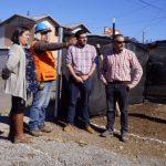 UN 25% DE AVANCE PRESENTAN LAS OBRAS DE CONSTRUCCIÓN DE SEDE DE LA POB. SILVIA CHACÓN