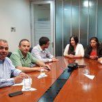ALCALDE Y CONCEJALES SE REÚNEN CON EJECUTIVOS DE EMPRESA DE FERROCARRILES DEL ESTADO