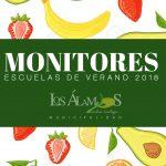 LISTADO OFICIAL DE MONITORES DE LAS ESCUELAS DE VERANO