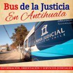 """""""BUS DE LA JUSTICIA"""" ENTREGARÁ ORIENTACIÓN JUDICIAL A LA COMUNIDAD DE ANTIHUALA"""