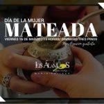 AUNQUE LLUEVA O TRUENE ESTE VIERNES HABRÁ MATEADA