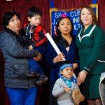 NIÑOS DEL JARDÍN INFANTIL DE PANGUE RECIBIERON ACCESORIOS IDENTITARIOS Y EQUIPAMIENTO EDUCATIVO