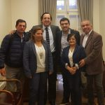 AUTORIDADES ALAMEÑAS SOLICITAN AL SENADOR PÉREZ APOYO EN DESAFÍOS Y PROYECTOS COMUNALES