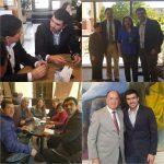 AUTORIDADES ALAMEÑAS VISITAN CONGRESO POR EVENTUAL REDUCCIÓN DE PRESUPUESTO PROVINCIAL