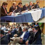 ALCALDES DE ZONAS FORESTALES Y AUTORIDADES DE GOBIERNO SE REÚNEN PARA ANALIZAR MEDIDAS DE PREVENCIÓN Y CONTROL DE INCENDIOS
