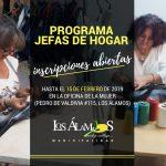 POSTULACIONES AL PROGRAMA JEFAS DE HOGAR SE DESARROLLARÁN EN DISTINTOS PUNTOS DE LA COMUNA