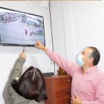 EN LOS ÁLAMOS CENTRO COMENZÓ A OPERAR EL PLAN COMUNAL DE CÁMARAS DE SEGURIDAD