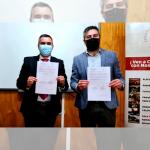 LICEO BICENTENARIO CAUPOLICÁN FIRMÓ CONVENIO CON CFT LOTA ARAUCO